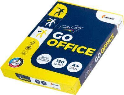 Kopierpapier Mondi Color Copy GO OFFICE, DIN A4, 120 g/m², hochweiß, 1 Karton = 7 x 250 Blatt