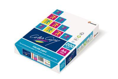 Kopierpapier Mondi ColorCopy, DIN A4, 200 g/m², reinweiß, 1 Paket = 250 Blatt