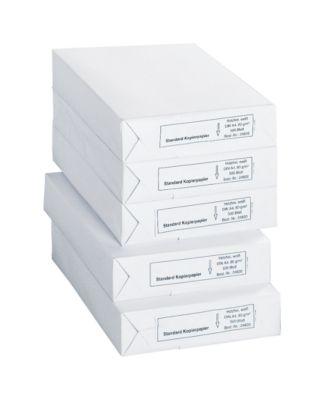 Kopierpapier SCHÄFER SHOP Standard, DIN A4, 80 g/m², weiß, 1 Karton = 5 x 500 Blatt