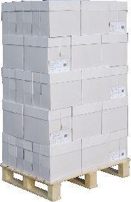 Kopierpapier Standard White Box, DIN A4, 80 g/m², weiß, 1 Palette = 200 x 500 Blatt