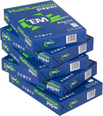 Kopierpapier Team Brand, A4, 80g, 2500 Blatt