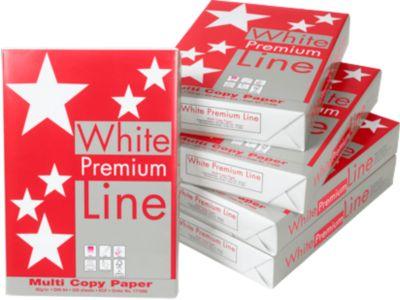 Kopierpapier White Premium Line, DIN A4, 80 g/m², hochweiß, 1 Karton = 5 x 500 Blatt