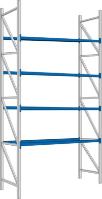 Kpl.-Angebot Grundfeld PR 350, Traverse, 2200x4700x1050 mm