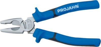 Kraft-Kombi-Zange Projahn, 165 mm, mit Nagel- & Drahthalter, Ringschlüssel, ergonomischer Griff