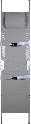 Krankentrage K, 2 x klappbar , hochbelastbar, aus Aluminium, verrottungsbeständig