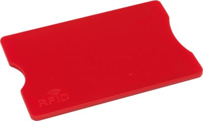 Kreditkartenhülle Protector, rot