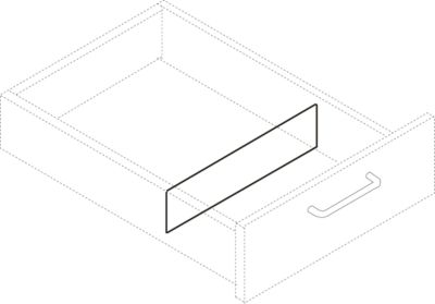 Kruisverdeler A4, voor Rollcontainer 1233