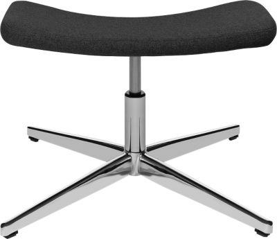 Kruk, voor Sitness Lounge fauteuil, zitting draaibaar, belastbaar tot max. 110 kg, antraciet