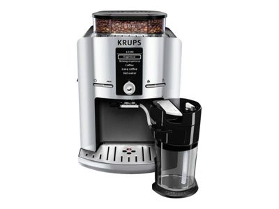 Krups EA 829E Latt'Espress - automatische Kaffeemaschine mit Cappuccinatore - 15 bar - Silver/Black