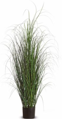 Kunstpflanzen PAPERFLOW Gras, aus PVC, inkl. Kunststofftopf, 130 cm