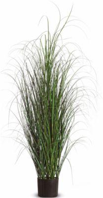 kunstplanten PAPERFLOW gras, pvc, incl. kunststof pot, 130 cm