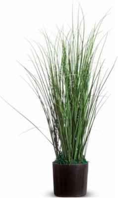 kunstplanten PAPERFLOW gras, pvc, incl. kunststof pot, 55 cm