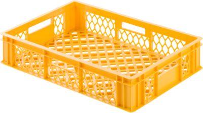 Kunststof bak 113, geel-oranje