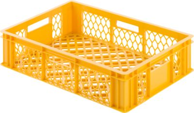 Kunststof bak 115, geel-oranje