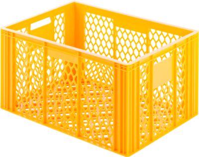 Kunststof bak 135, geel-oranje