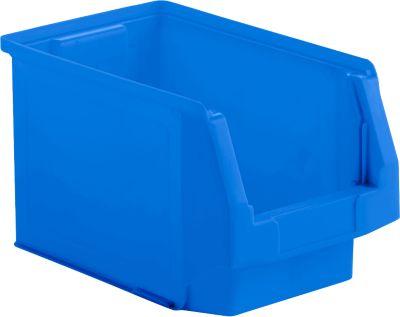 Kunststof bak grootte LF 322, blauw