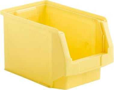 Kunststof bak grootte LF 322 geel