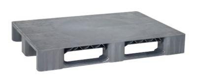 Kunststof pallet KIGAvivo, 1200 x 800 mm, maxi draagvermogen 2500 kg, zonder antislipkant