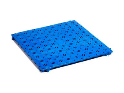 Kunststof roostermat, blauw