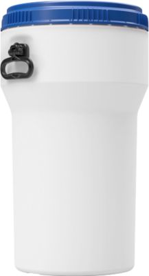 Kunststof trommel CurTec, met schroefdeksel, HDPE, nestbaar, waterbestendig, 50 l.