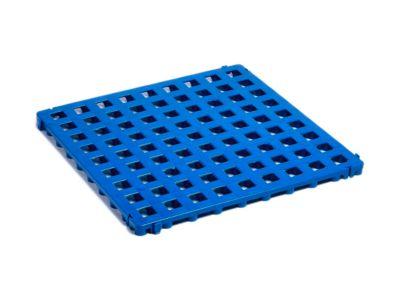 Kunststof vloerrooster Clippy, blauw