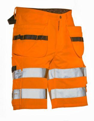 Kurze Hose HiVis orange C46