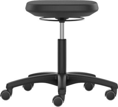 Laborhocker LABSIT, mit Rollen, stufenlose Sitzhöhenverstellung
