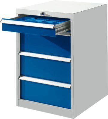 Ladekast SB 5805 z.grijs/blauw