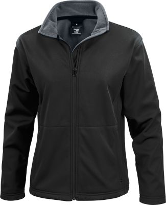 Ladies Softshell Jacket schwarz, S