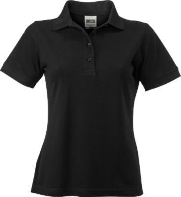 Ladies Workwear Polo, black, XL