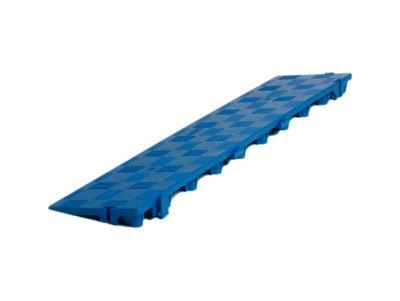 Längsrampe für Clippy Bodenrost, blau