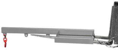 Lastarm für Gabelstapler, 1600-1,0, grau RAL 7005