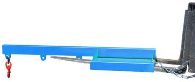 Lastarm für Gabelstapler, 1600-2,5, blau RAL 5012
