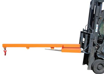 Lastarm für Gabelstapler, 2400-1,0, grau RAL 7005