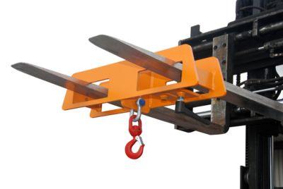 Lasthaken LH 2, 1500 kg Tragkraft, orange lackiert