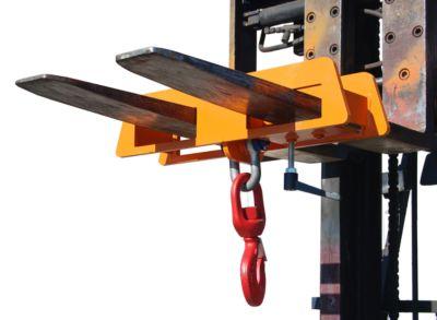 Lasthaken LH 2, 7500 kg Tragkraft, orange lackiert
