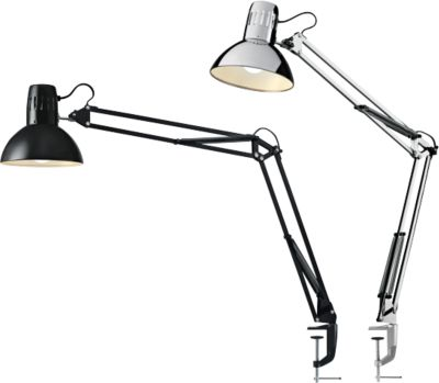 Led-bureaulamp Manhattan, architectenlamp, 400 lumen, levensduur 20.000 uur, zwart