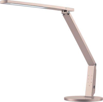 Led-bureaulamp Vario Plus, 741 lumen, dimbaar, levensduur 40.000 uur, champagne