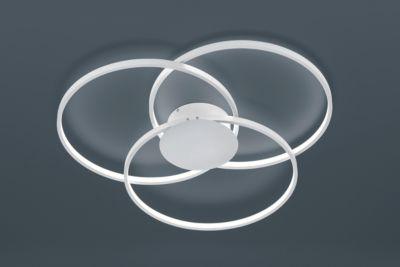 LED-Deckenleuchte LED-Hängeleuchte SEDONA, dimmbar, ø 800 mm