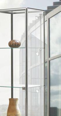 LED-railverlichting voor BST-aluminiumprofielvitrines, 4 spots, 4x 4,5 W power-LED's