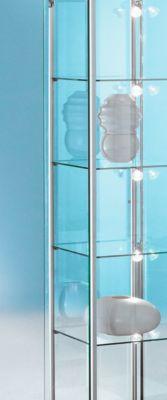 LED-railverlichting voor BST Forum vitrines, 5 spots, 5x 4,5 W power LED's