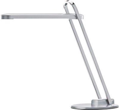 LED-Tischleuchte Firenze, klappbar, 336 Lumen, Lebensdauer 20.000 Stunden, silber