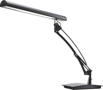 LED-Tischleuchte Torino, 450 Lumen, vertikal und horizontal drehbar, schwarz