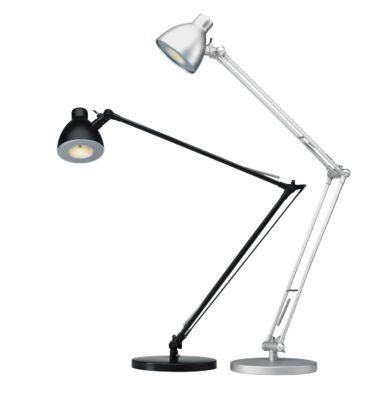 LED-Tischleuchte Valencia, silber
