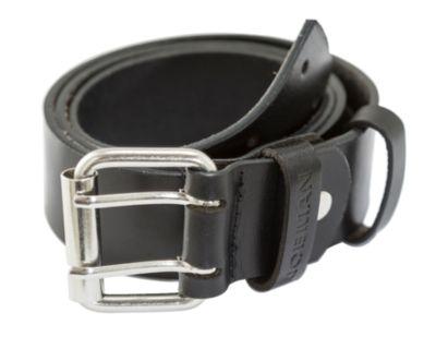 Ledergürtel schwarz 90 cm