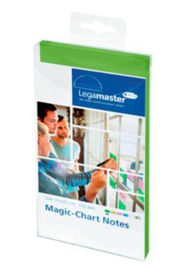 Legamaster Magic-Chart Notes, 7-159 Serie, 100 x 200 mm, 100 Stück, grün