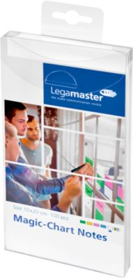 Legamaster Magic-Chart Notes, 7-159 Serie, 100 x 200 mm, 100 Stück, weiß