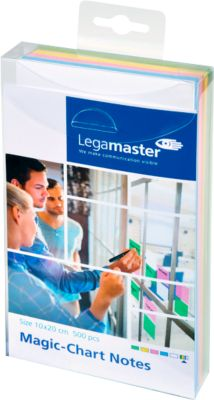 Legamaster Magic-Chart Notes, 7-159 Serie, 100 x 200 mm, grün/gelb/rosa/blau/weiß