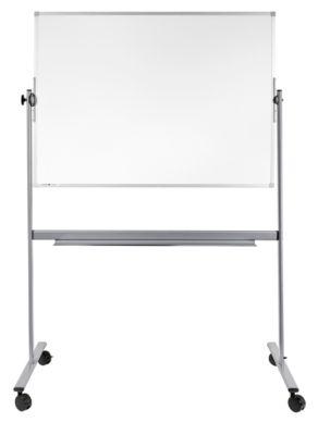 Legamaster mobiele kantelbare whiteboard met twee schrijfoppervlakken, 900 x 1200 mm