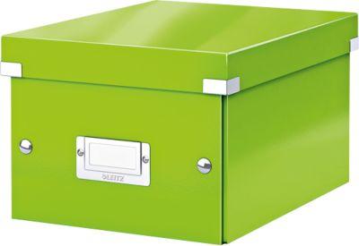 LEITZ® Ablage- und Transportbox Serie Click + Store, klein, für DIN A5, grün